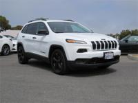Options:  2017 Jeep Cherokee Sport|Bright White/Cloth