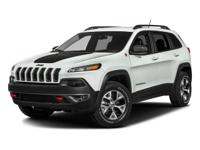 Options:  2017 Jeep Cherokee Trailhawk|Billet Silver