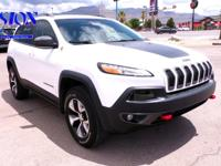 Recent Arrival! Clean CARFAX. White 2017 Jeep Cherokee
