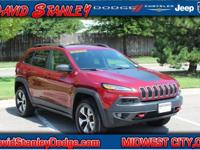 Cherokee Trailhawk, 4D Sport Utility, 2.4L 4-Cylinder