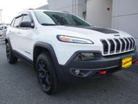 2017 JEEP TRAILHAWK 4X4 ONE OWNER LOCAL JEEP THAT IS
