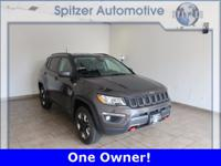 Jeep New Compass Trailhawk CARFAX One-Owner. Clean