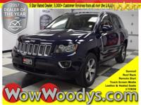 NEW! Scores 25 Highway MPG and 20 City MPG! This Jeep