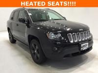 Options:  2017 Jeep Compass Latitude|Black|**** 4X4