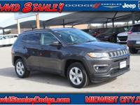CARFAX One-Owner. Clean CARFAX. Gray 2017 Jeep New