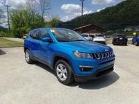 Blue 2017 Jeep New Compass Latitude 4WD 9-Speed