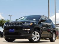 2017 Jeep New Compass Diamond Black Crystal Pearlcoat