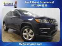 Recent Arrival! 2017 Jeep New Compass Latitude Blue