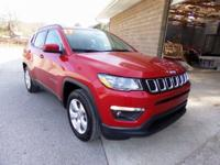 Red 2017 Jeep New Compass Latitude 4WD 2.4L I4