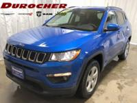 Laser Blue Pearlcoat 2017 Jeep New Compass Latitude 4WD