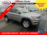 Sturdy and dependable, this Used 2017 Jeep Compass