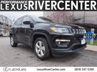 CARFAX One-Owner. Clean CARFAX. Diamond Black 2017 Jeep