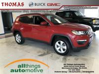 ONE OWNER, Redline Pearlcoat 2017 Jeep New Compass