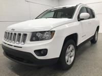 Options:  2017 Jeep Compass Latitude|White|Recent