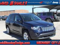 CARFAX One-Owner. Clean CARFAX. Blue 2017 Jeep Compass