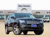 2017 Jeep Compass Latitude 4D Sport Utility Black