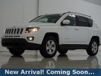2017 Jeep Compass Latitude in Bright White Clearcoat,