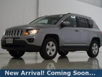 2017 Jeep Compass Latitude in Billet Silver Metallic