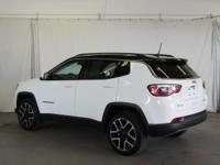 Options:  2017 Jeep New Compass Limited 4X4|White