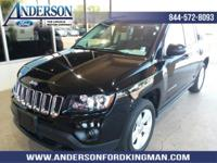 Black Clearcoat 2017 Jeep Compass Sport 4WD 6-Speed