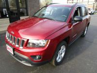 One Owner. 2017 jeep compass sport 4wd, 1-owner and