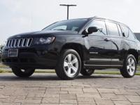2017 Jeep Compass Sport in Black Clearcoat, 4WD, This