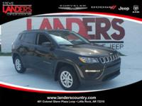 Clean CARFAX. Certified. Diamond Black 2017 Jeep