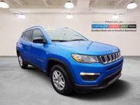 New Price! Clean CARFAX. 2017 Jeep New Compass Sport
