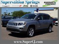 Billet Silver Metallic Clearcoat 2017 Jeep Compass