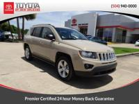 CARFAX One-Owner. Brown 2017 Jeep Compass Sport FWD CVT