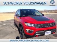 Check out this gently-used 2017 Jeep Compass we