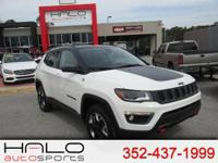 2017 JEEP COMPASS TRAILHAWK 4 WHEEL DRIVE - LOADED WITH