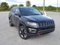 This very clean, low mileage Jeep Compass Trailhawk 4x4