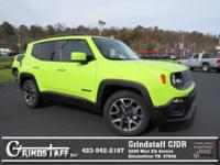 Hypergreen Clearcoat 2017 Jeep Renegade Latitude FWD