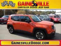 ** 2017 Jeep Renegade Sport ** Orange ONLY 5,000