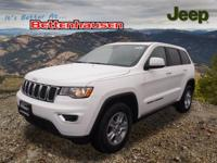 Options:  2017 Jeep Grand Cherokee Laredo|White|17 X