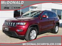 Options:  2017 Jeep Grand Cherokee Laredo 4X4|Miles: