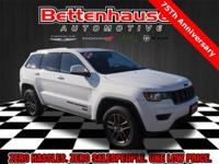 Options:  2017 Jeep Grand Cherokee 75 Th