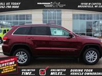 Options:  2017 Jeep Grand Cherokee 4Wd