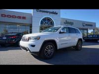 Get ready to go for a ride in this 2017 Jeep Grand