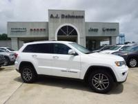 Options:  2017 Jeep Grand Cherokee Limited 2Wd|This