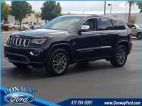 19/26 City/Highway MPG Diamond Black 2017 Jeep Grand