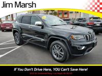Jeep Grand Cherokee Limited, 2017 one-owner vehicle