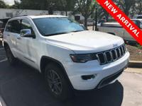 2017 Jeep Grand Cherokee Limited  * CLEAN CARFAX