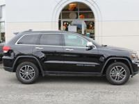This 2017 Jeep Grand Cherokee Limited ONE-OWNER CARFAX
