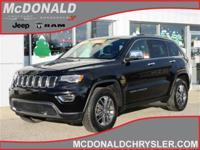 Options:  2017 Jeep Grand Cherokee Limited 4X4|Miles:
