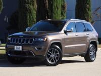 We are excited to offer this 2017 Jeep Grand Cherokee.