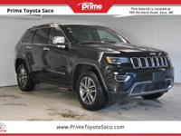 CARFAX One-Owner. 2017 Jeep Grand Cherokee Limited in