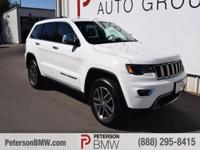 Our amazing 2017 Jeep Grand Cherokee Limited 4WD let