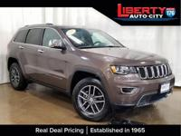 Clean CARFAX. Walnut Brown Metallic Clearcoat 2017 Jeep